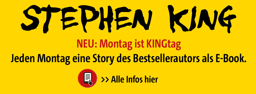 Stephen King, Montag ist KINGtag, Story Selection, eBooks