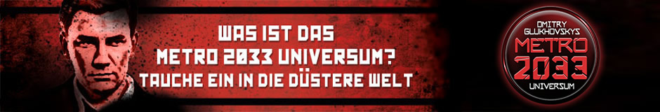 Website zum METRO-2033-Universum