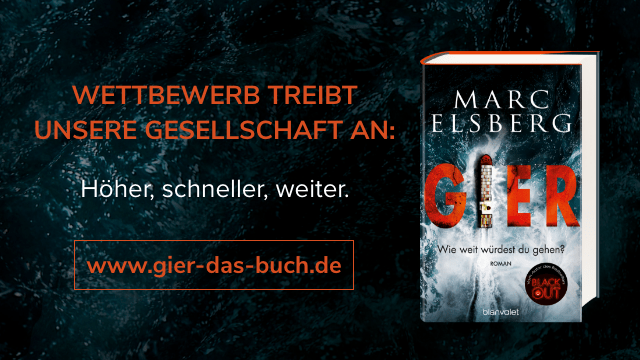 "Website von ""GIER"" von Marc Elsberg"