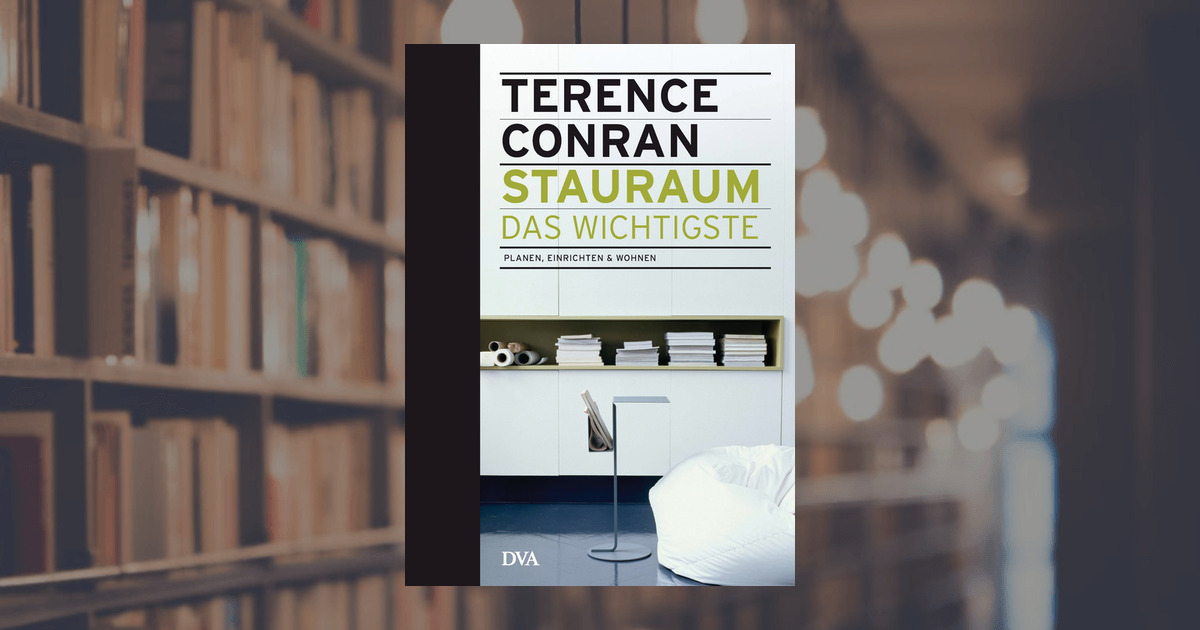terence conran stauraum das wichtigste dva verlag. Black Bedroom Furniture Sets. Home Design Ideas