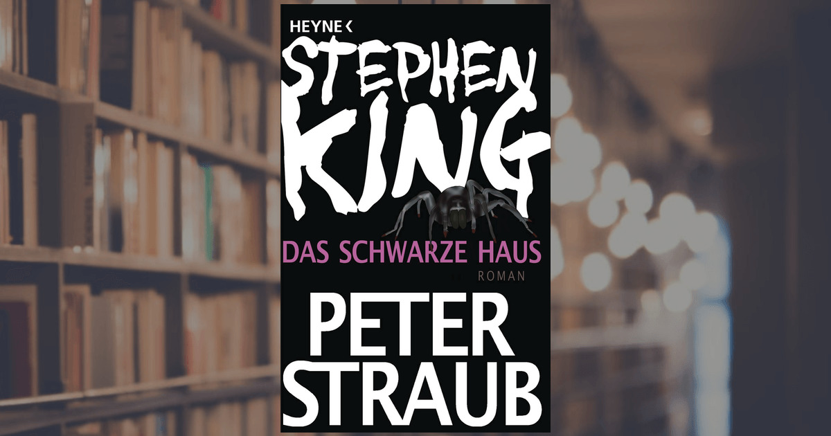 stephen king das schwarze haus heyne verlag taschenbuch. Black Bedroom Furniture Sets. Home Design Ideas