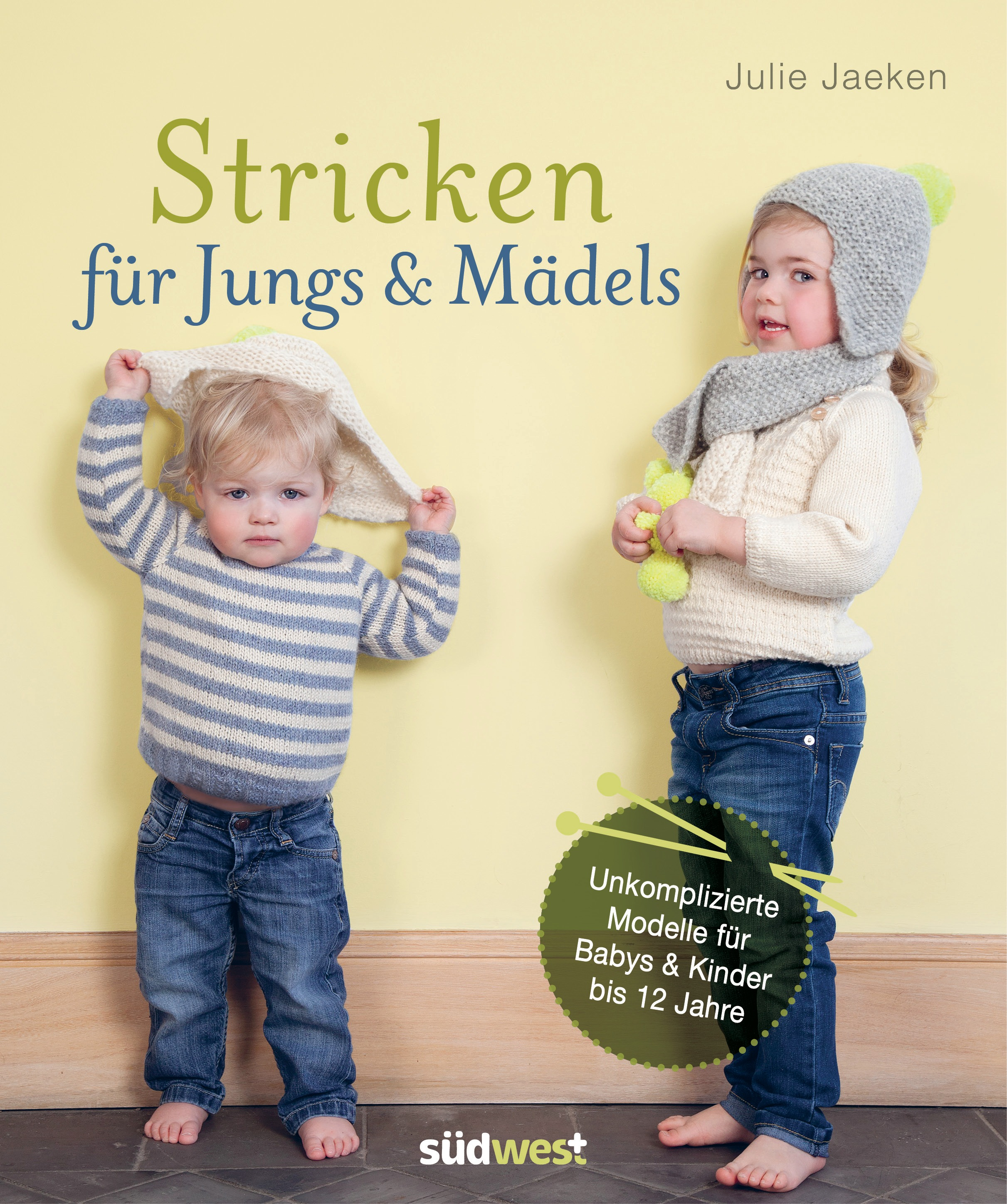 julie jaeken stricken f r jungs m dels s dwest verlag hardcover. Black Bedroom Furniture Sets. Home Design Ideas