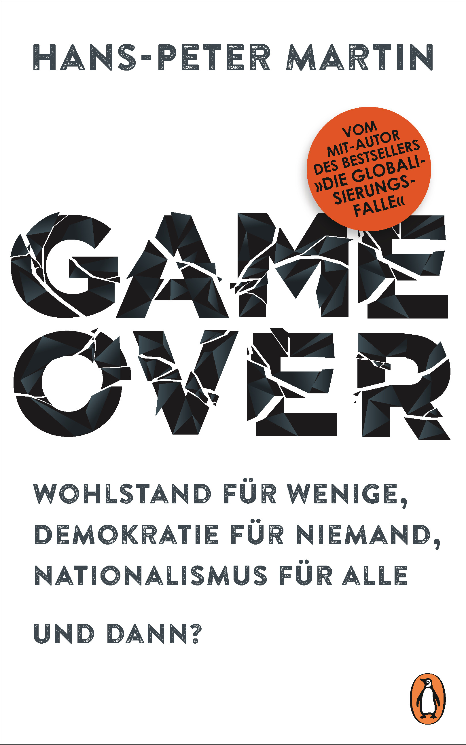 bd1c0be30f7b81 Hans-Peter Martin  Game Over. penguin (Hardcover)