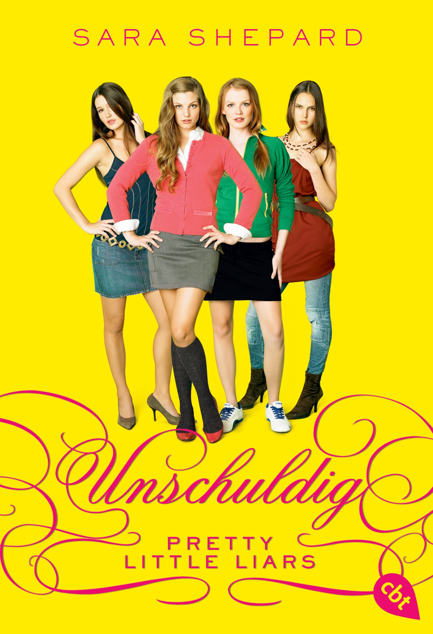 Pretty Little Liars Book Cover Characters : Sara shepard pretty little liars unschuldig cbj