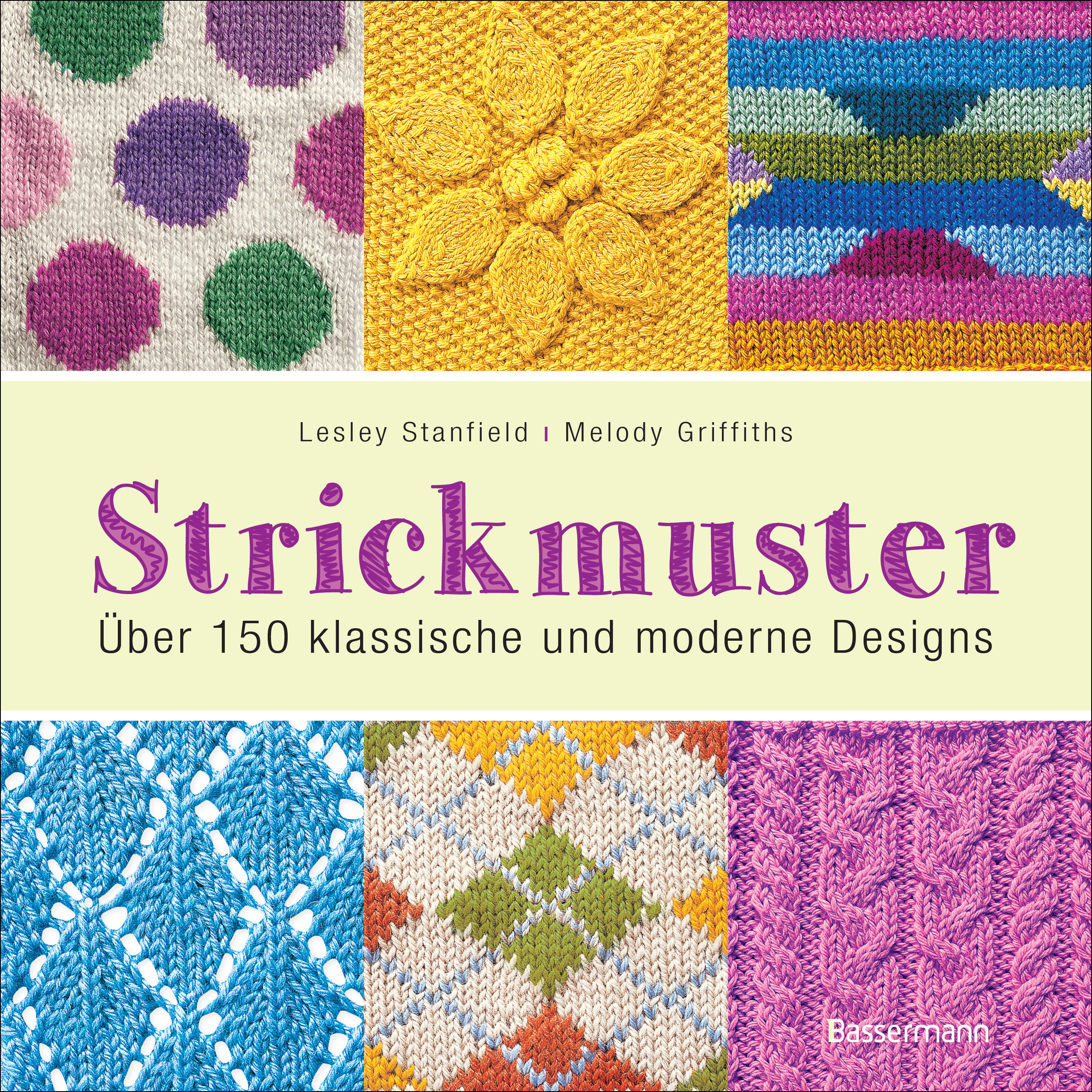 strickmuster blick ins buch cover - Strick Muster